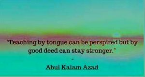 educational quotes by abul kalam azad