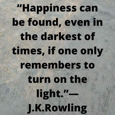 Happiness quotes by J.K.Rowling