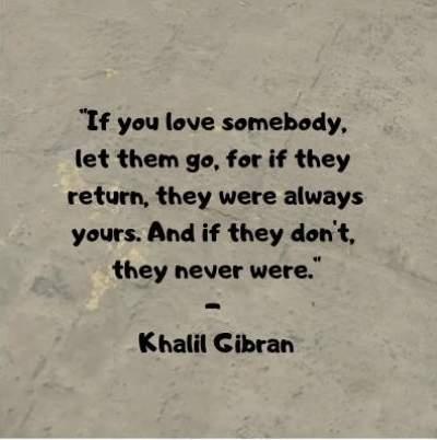 khalil gibran quotes on love