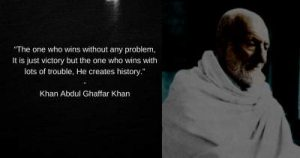 motivational quotes by khan abdul ghaffar khan