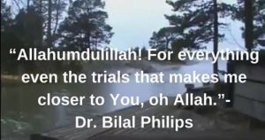 Alhamdulillah quotes on trials with image