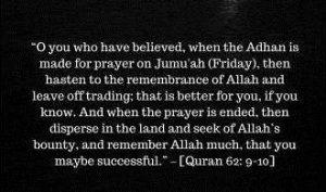 Jummah in Quran