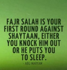 fajr prayer quotes