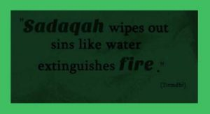 sadaqah hadith quotes download