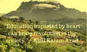 maulana abul kalam azad quotes on education