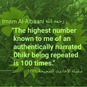shaykh albani quotes on dhikr