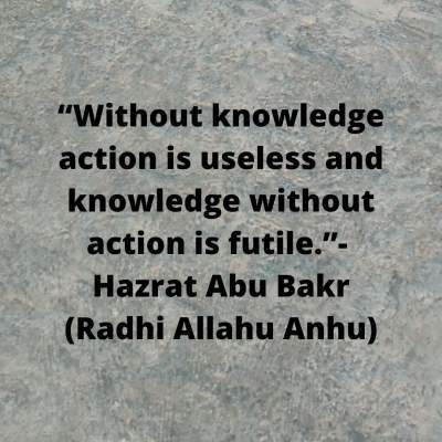quotes about knowledge and action