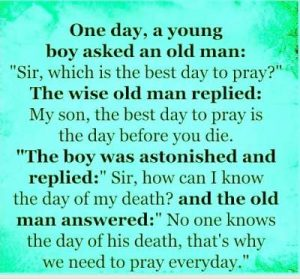 60+ Islamic Prayer (Namaz / Salah) Quotes in English