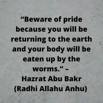 Download quotes on pride in Islam