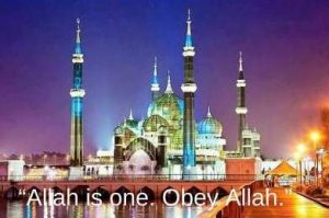 allah is one dp