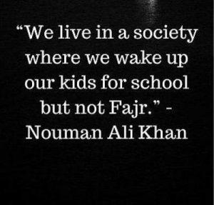Download fajr prayer quotes by nouman ali khan