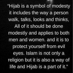 download hijab status image