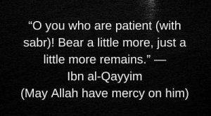 Download ibn al qayyim sayings on sabr
