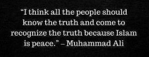 islam is a religion of peace quotes by muhammad ali