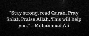 islamic quotes by muhammad ali