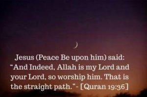 Jesus prayed to Allah dp