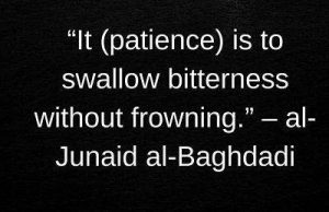 download junaid al baghdadi quotes on sabr with image