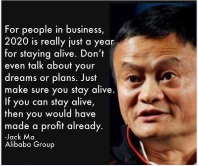 motivational quotes by jack ma
