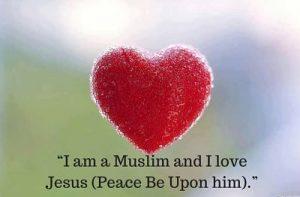 muslims love jesus dp image