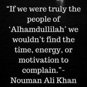 nouman ali khan quotes on alhamdulillah
