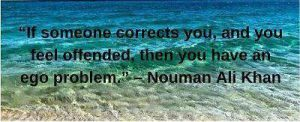 download nouman ali khan quotes on ego