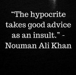 nouman ali khan quotes on hypocrites
