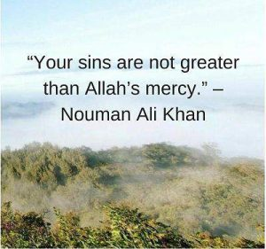 nouman ali khan quotes on mercy of allah