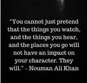 quotes on pretending by nouman ali khan
