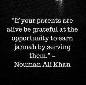 quotes on parents by nouman ali khan