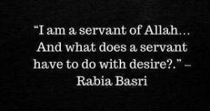 rabia basri quotes on desire