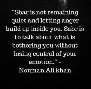 download sayings on sabr in english by nouman