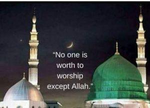 worship Allah dp