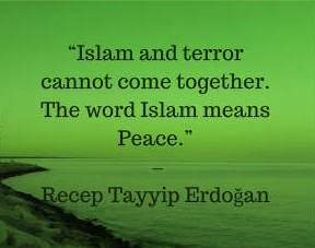 erdogan quotes on islam