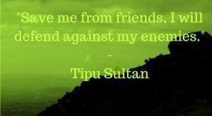 famous tipu sultan quotes