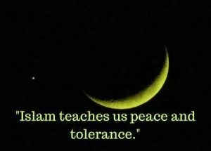 islam teaches us peace image