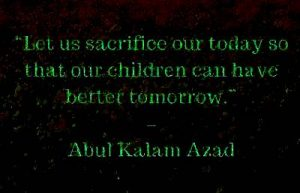 motivational thoughts by abul kalam azad