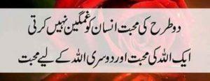 status in urdu on love