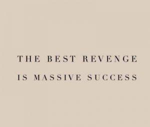 inspirational sms on revenge