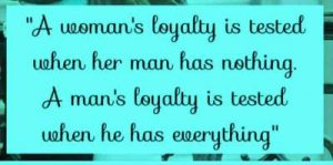 loyalty staus for relationship