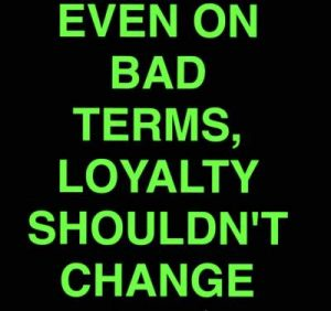 loyalty status