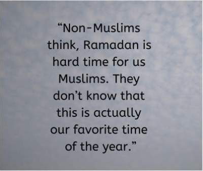 ramadan is the best month