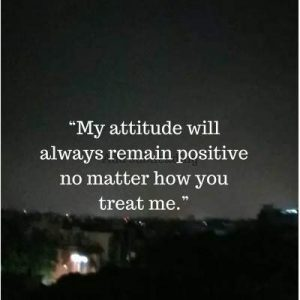 short status on attitude