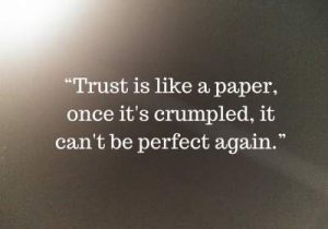 broken trust status