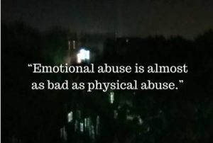 status on emotional abuse