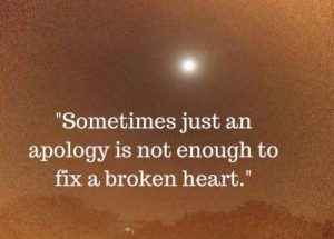 status on fixing a broken heart