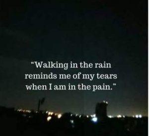 rain and pain status