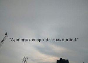 trust denied status quotes