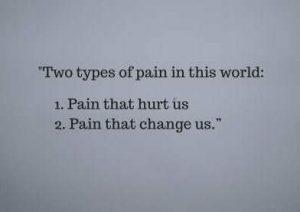 status on 2 types of pain