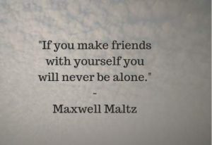 alone status quotes by Maxwell Maltz