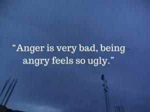 feeling angry status